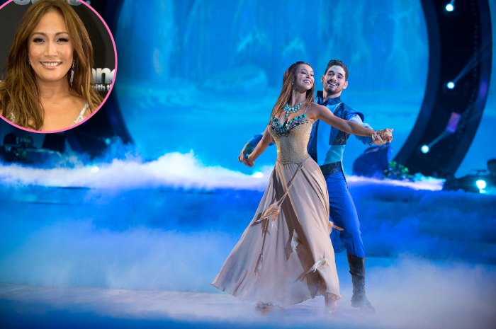 Carrie Ann Inaba Judges Alexis Ren and Alan Bersten's Romance