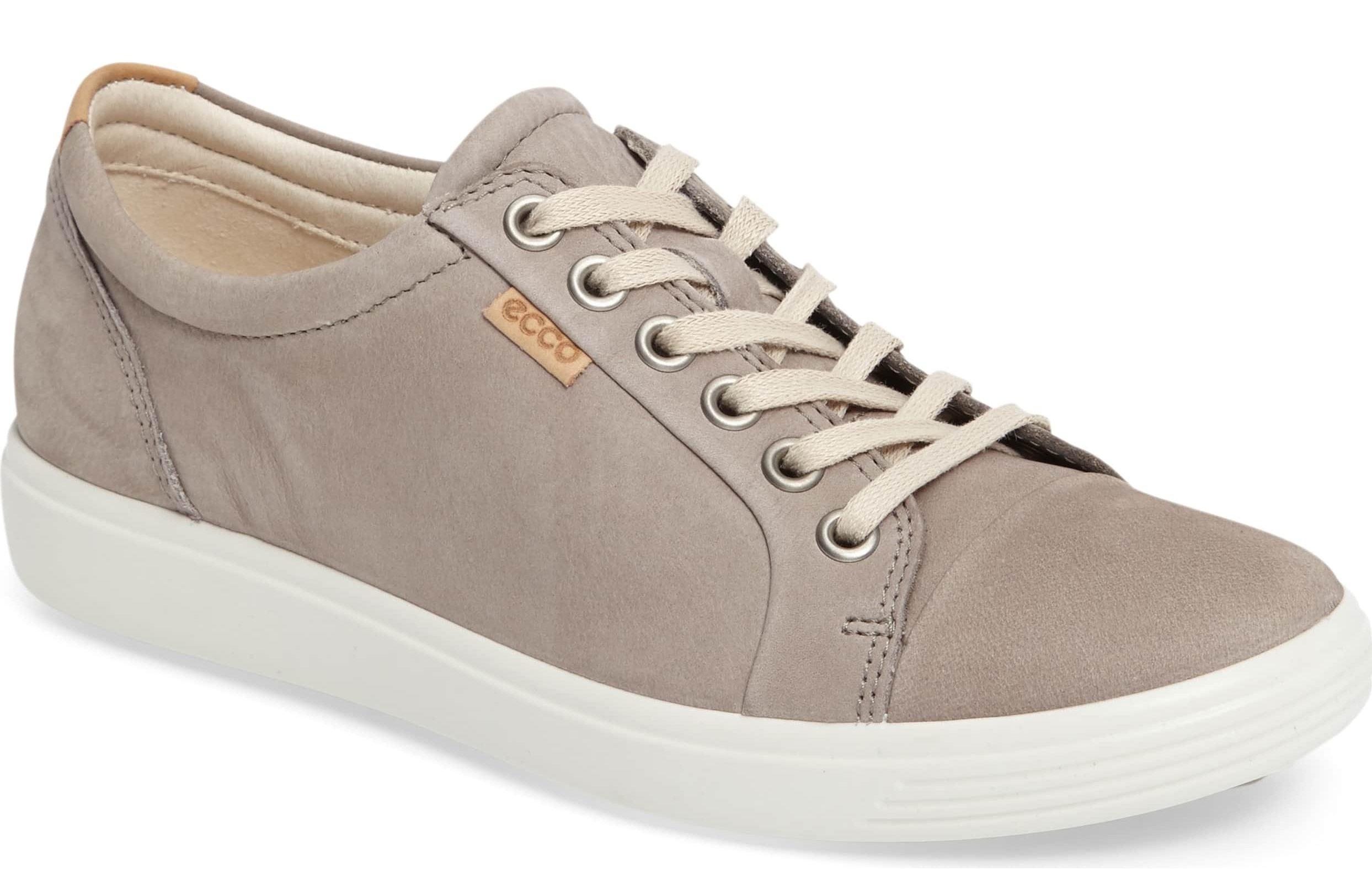 gray ecco sneakers