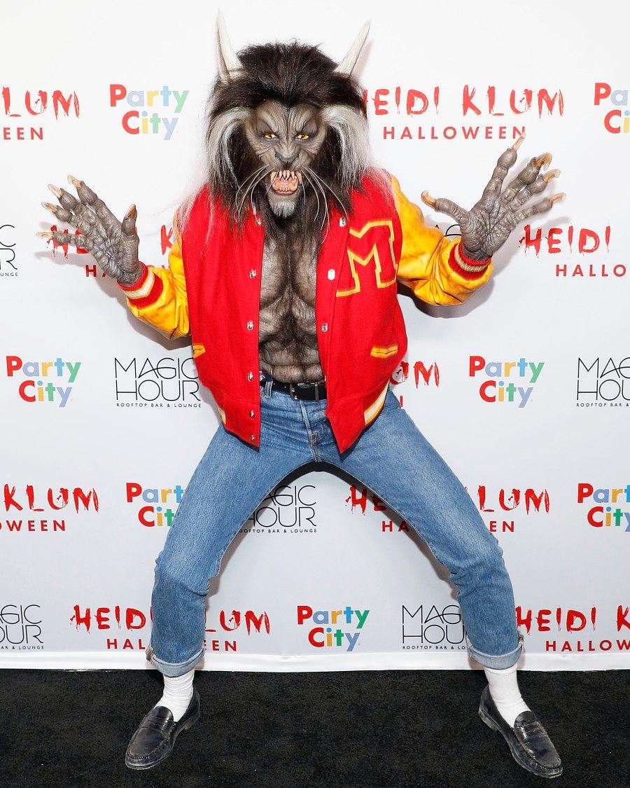 Heidi Klum Michael Jackson Thriller Halloween 2017
