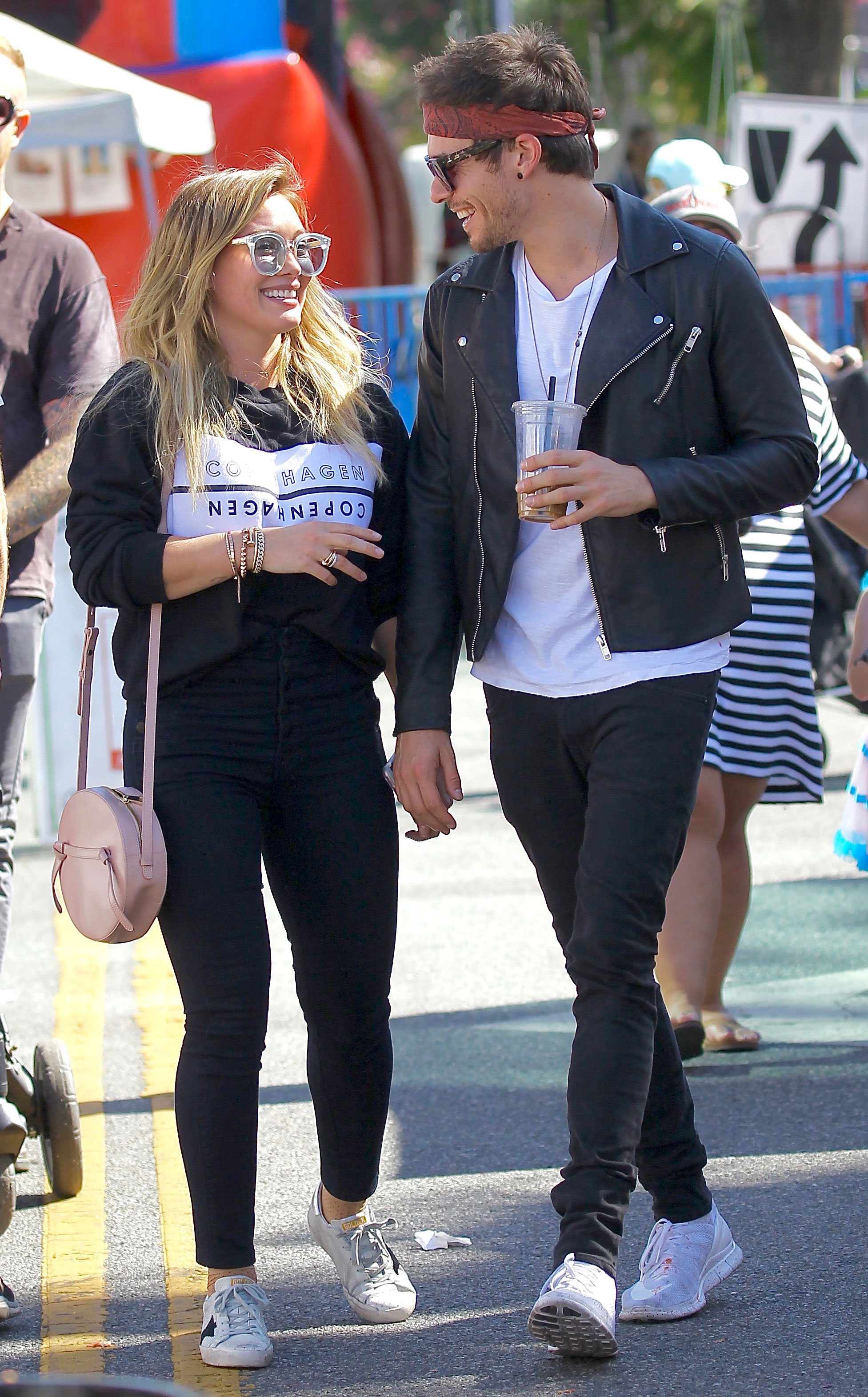 """Hilary Duff and Matthew Koma: A Timeline of Their Relationship - The two rekindled their romance and the Raise Your Voice star started sharing photos of them together on Instagram again. She later opened up about their relationship, telling Us Weekly in December that """"it's going so great."""""""