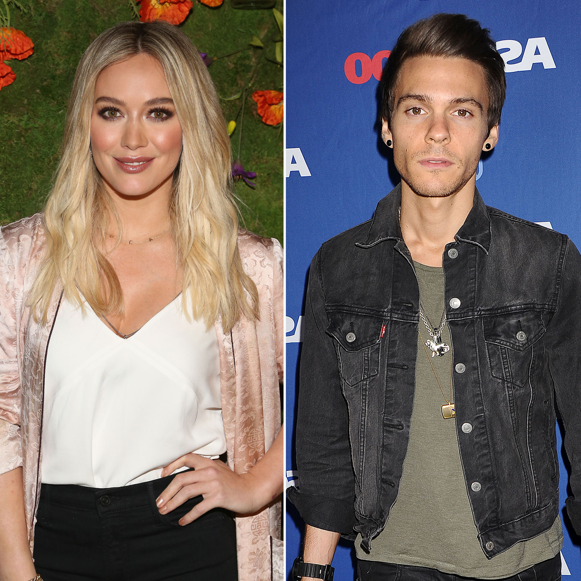 Hilary Duff Matthew Koma - The pair hit it off in 2015 — one year after Duff split from ex-husband Mike Comrie , with whom she shares son Luca — while collaborating on the Lizzie McGuire alum's album Breathe In. Breathe Out.