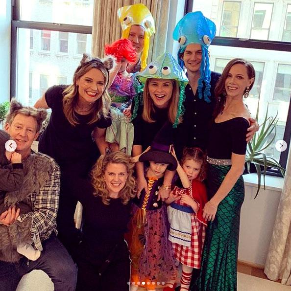 Jenna Bush Hager Family Halloween