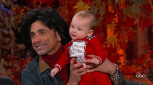 John Stamos' Finally Shows Billy's Face — and on Late night TV