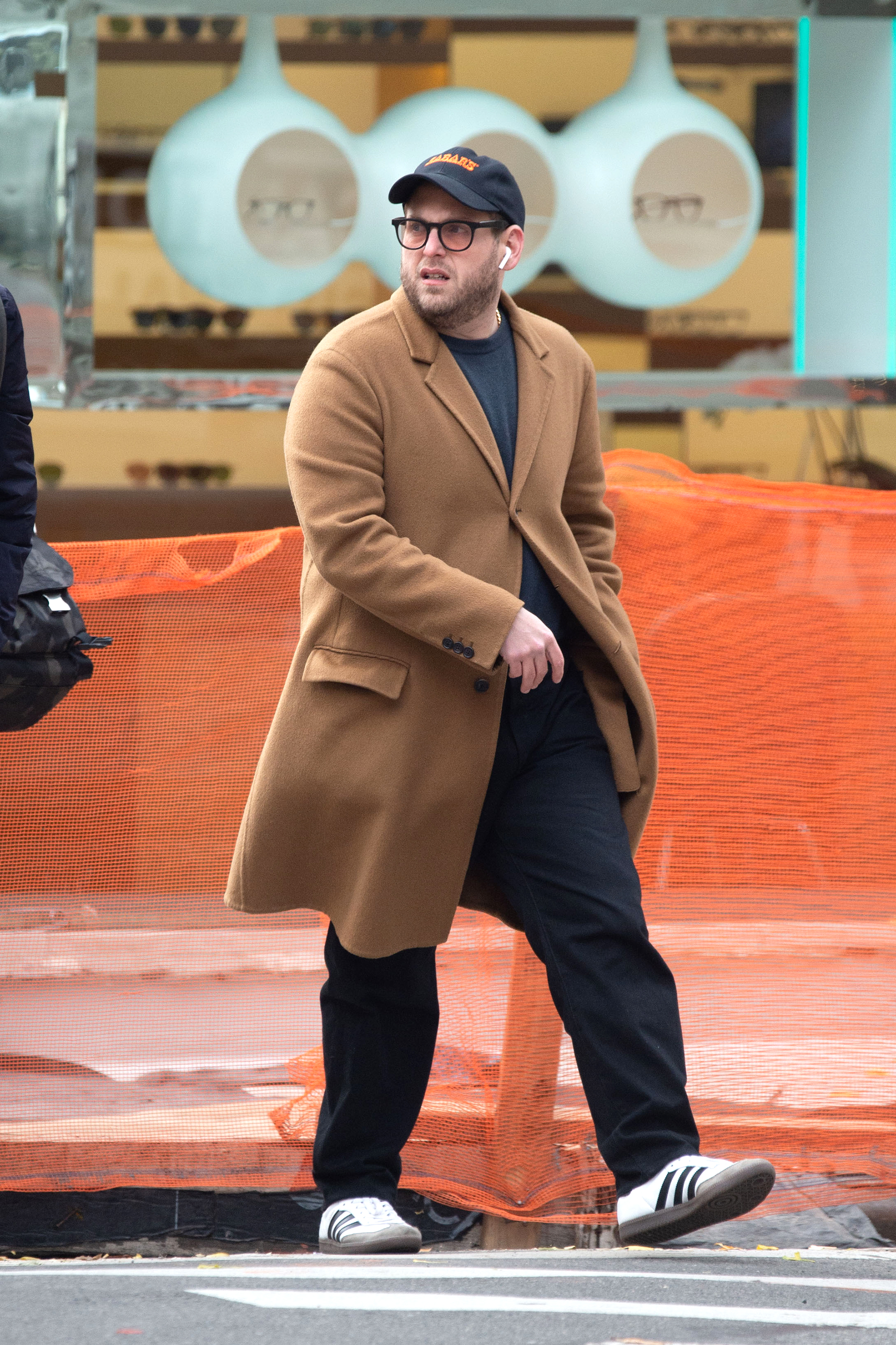 """jonah hill weight loss - 96 Normal 0 false false false EN-US X-NONE X-NONE /* Style Definitions */ table. MsoNormalTable {mso-style-name:""""Table Normal""""; mso-tstyle-rowband-size:0; mso-tstyle-colband-size:0; mso-style-noshow:yes; mso-style-priority:99; mso-style-parent:""""""""; mso-padding-alt:0in 5.4pt 0in 5.4pt; mso-para-margin:0in; mso-para-margin-bottom:.0001pt; mso-pagination:widow-orphan; font-size:12.0pt; font-family:""""Calibri"""",sans-serif; mso-ascii-font-family:Calibri; mso-ascii-theme-font:minor-latin; mso-hansi-font-family:Calibri; mso-hansi-theme-font:minor-latin;} A long camel coat didn't add bulk to the Mid90s director's trim frame as he strolled through New York City."""