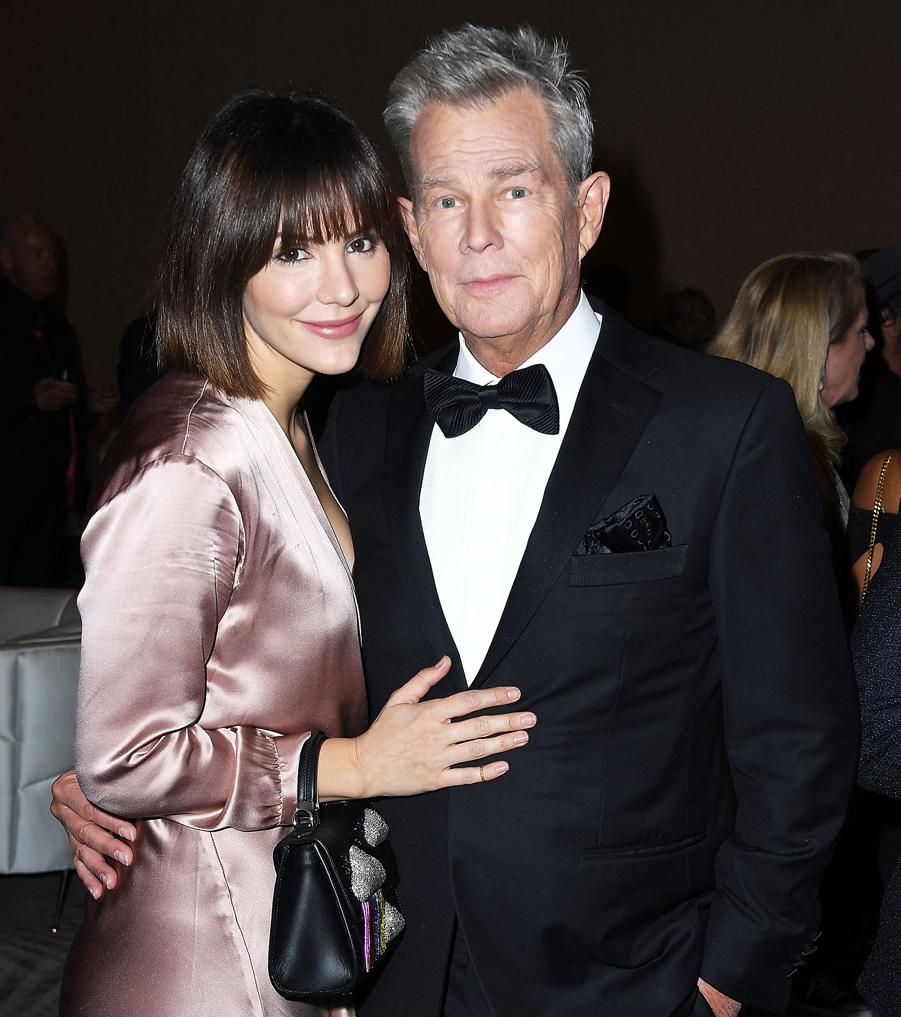 Katharine McPhee David Foster Holiday Plans