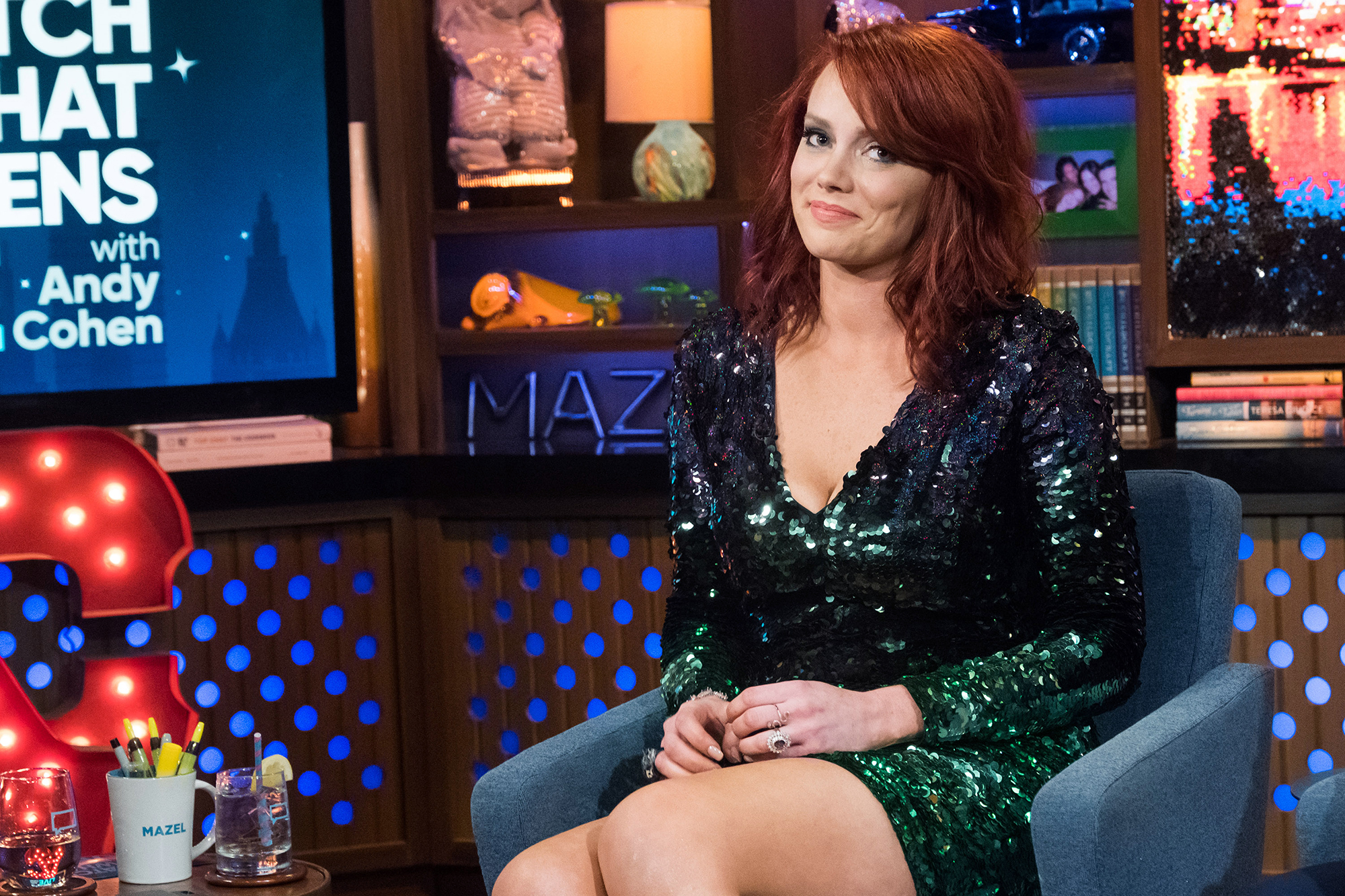"""Kathryn Dennis Claps Back At Users Who Think She Looks Pregnant - The Southern Charm star hit back at Instagram commenters who said she looked pregnant in a Thanksgiving 2018 post. """"No I have just gained weight,"""" she replied."""