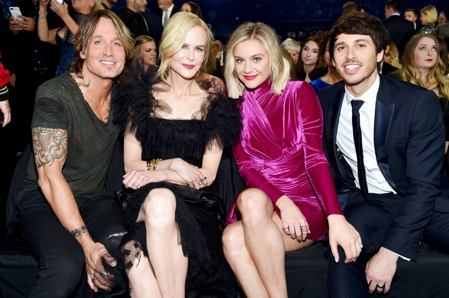 Inside CMAs 2018 Keith Urban Nicole Kidman Kelsea Ballerini Morgan Evans