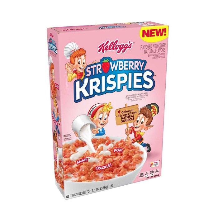 Kelloggs Strawberry Rice Krispies Cereal