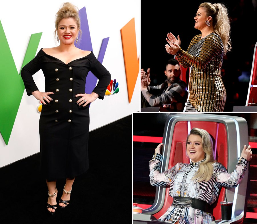 Kelly Clarkson Happy And Slim On The Voice