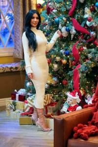 Kim Kardashian Teases a Men's Makeup Line During John Legend and Chrissy Teigen's Holiday Special