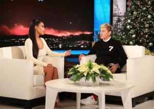 Kim Kardashian-West on 'Ellen'