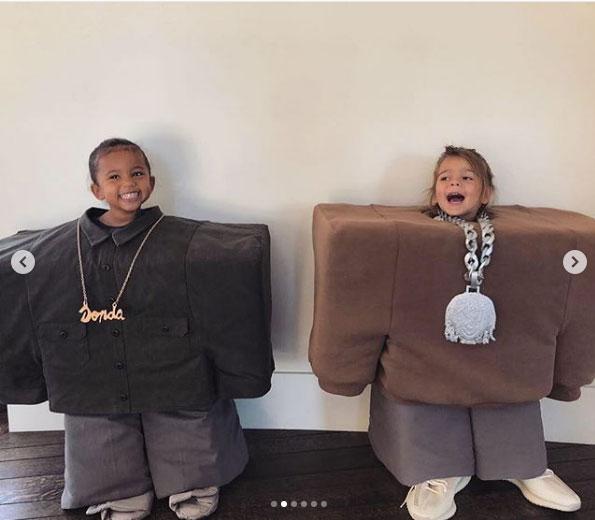 Kim Kardashian Kourtney Kardashian Kids Halloween
