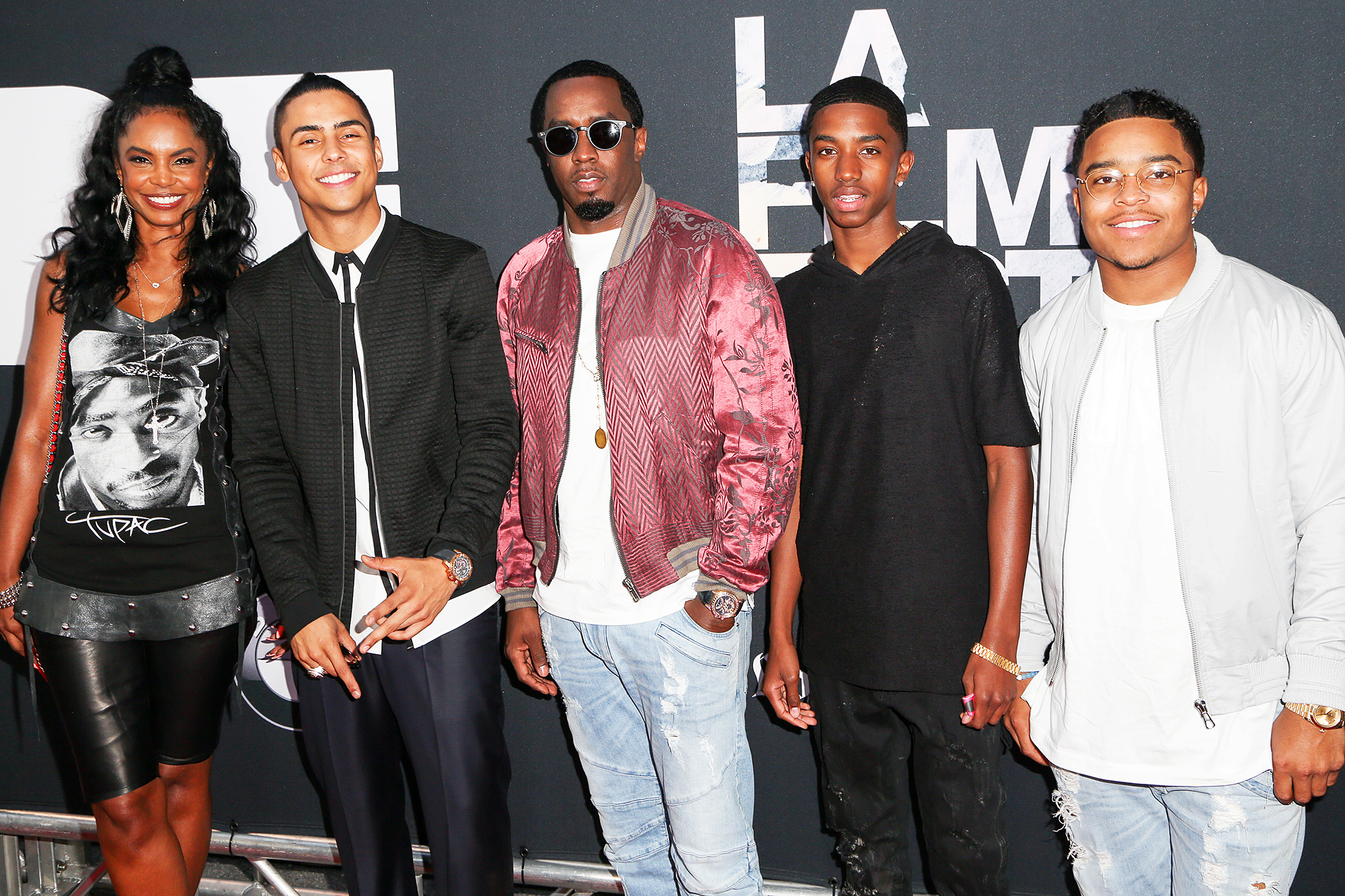 Kim Porter Remembered Quincy Brown Justin Combs