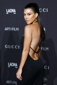 Kourtney Kardashian Shuts Down Speculation She's Pregnant