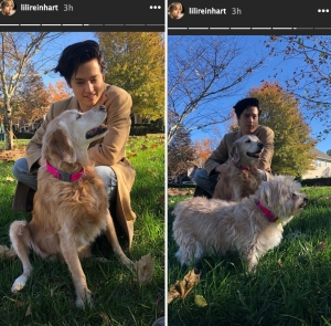 Lili Reinhart Brings Cole Sprouse