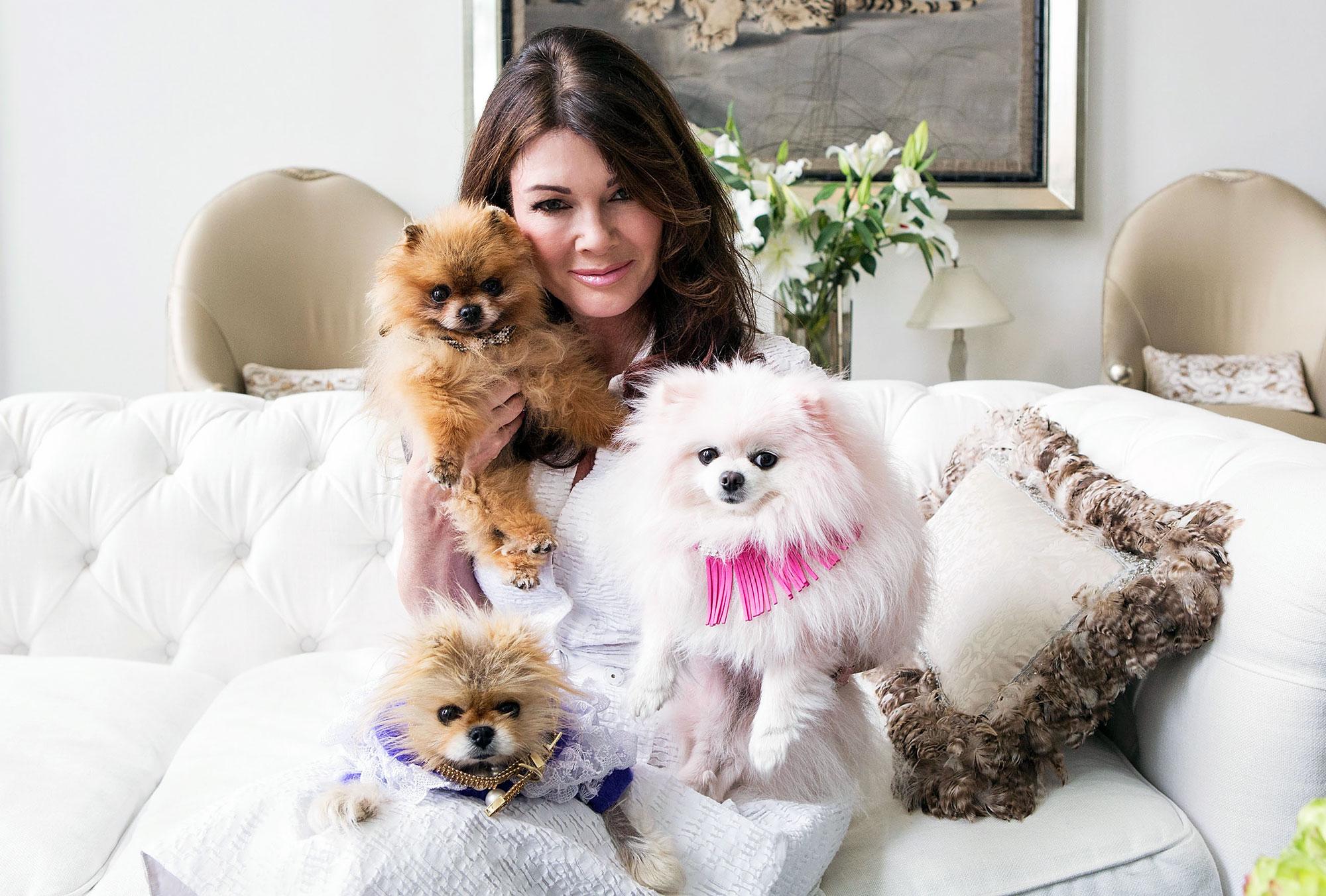 Lisa Vanderpump Gift Late Dogs