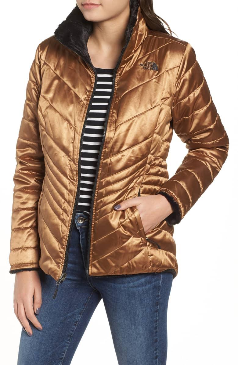 metallic mossbud reversible heatseeker jacket