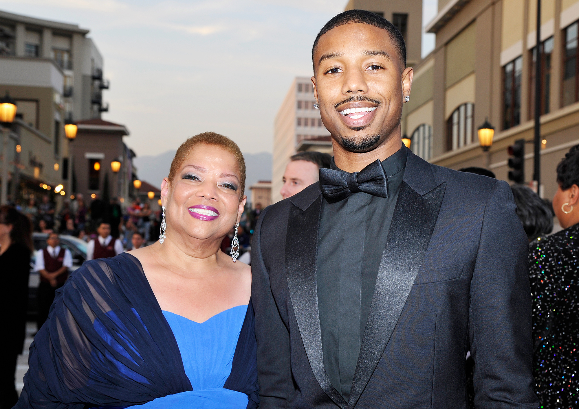 Michael B Jordan Living With Mom