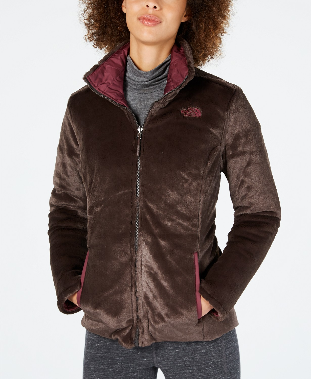 north face jacket fleece reversible sale macys