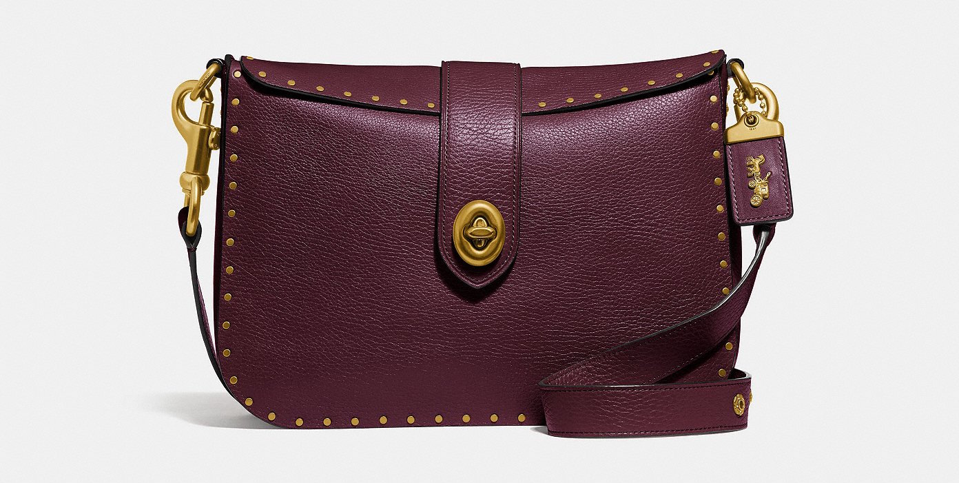 oxblood page 27 coach bag on sale