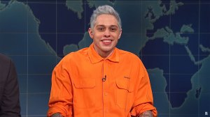 Pete Davidson from the Weekend Update