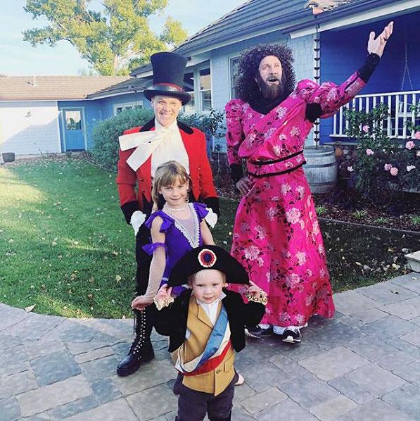 Pink Kids Halloween