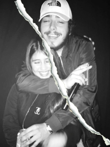 Post Malone and Ashlen Diaz breakup.