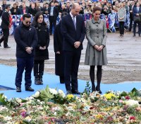 Prince William and Duchess Kate Pay Tribute to Helicopter Crash Victims in Leicester