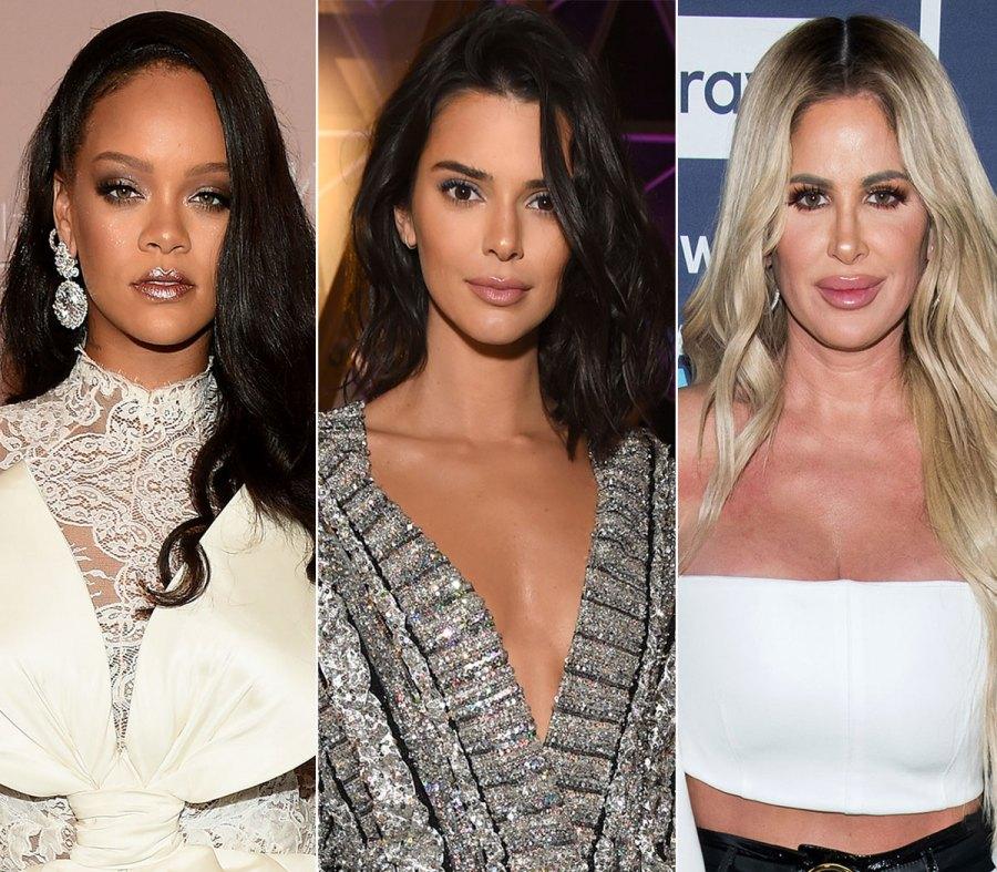 Rihanna Kendal Jenner Kim Zolciak