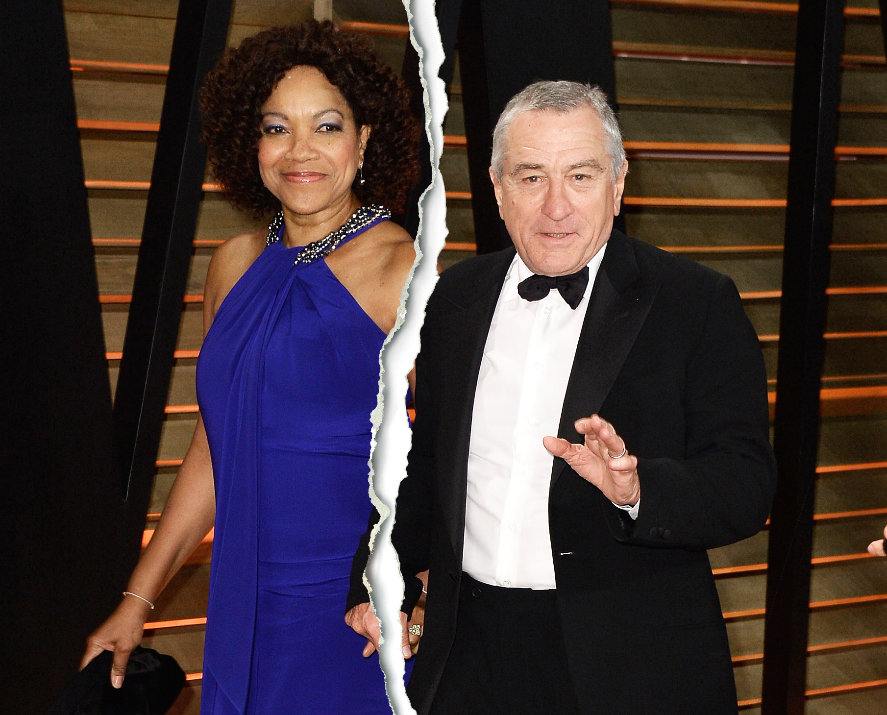 Grace Hightower Robert De Niro Split