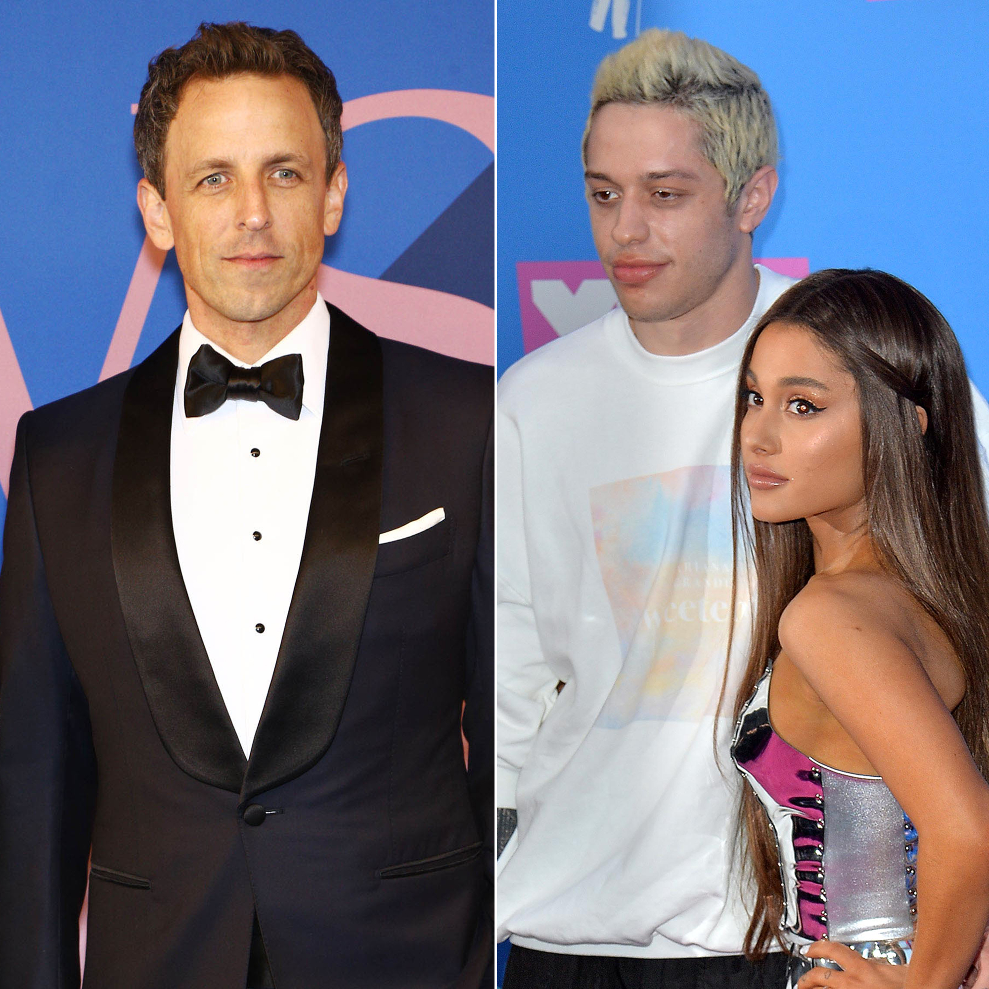Seth Meyers Says He Was 'Shocked' About Pete Davidson and Ariana Grande's Split
