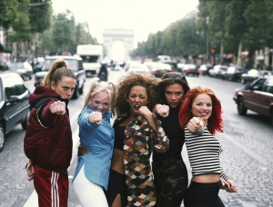 English pop group The Spice Girls