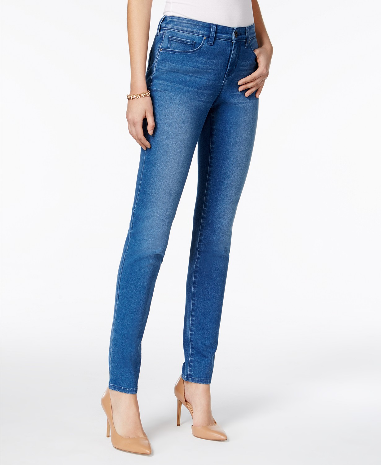 style & co curvy fit skinny jeans