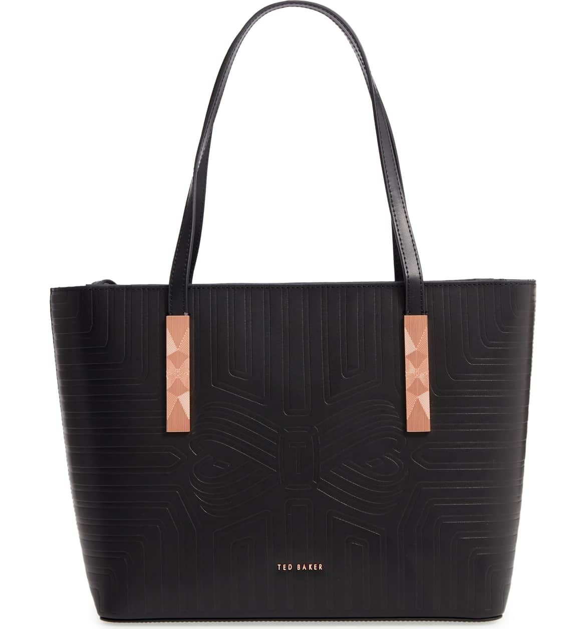 729a6c72f ted baker london bow leather shopper bag nordstrom