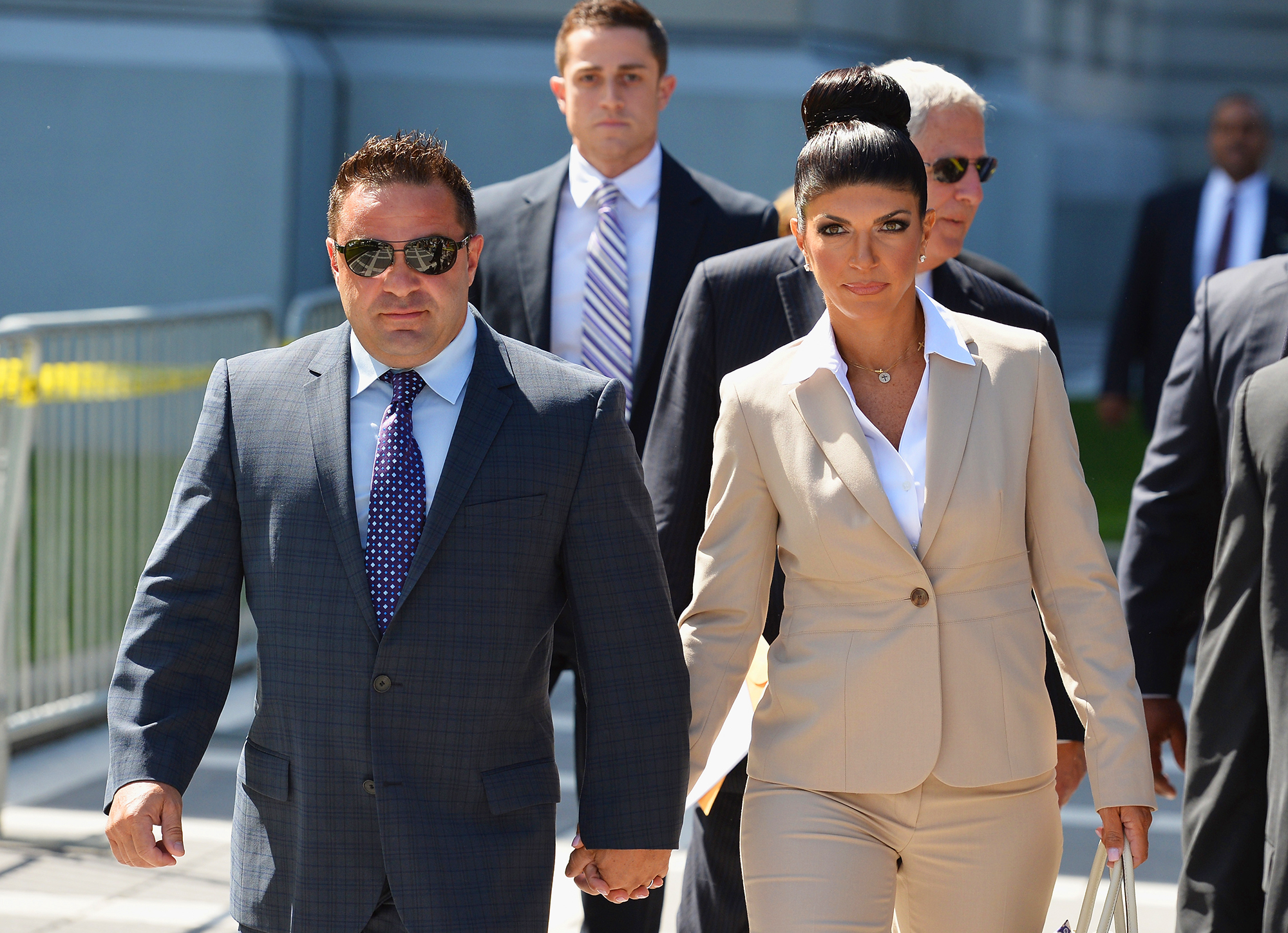 Everything Teresa Giudice Has Said About Joe Giudice's Deportation - Four days after a judge ordered Joe to be deported during an October 2018 court hearing, Teresa took to Instagram for the first time to address the situation. She shared a mock photo of the Statue of Liberty crying and captioned it with a series of praying-hands emojis.