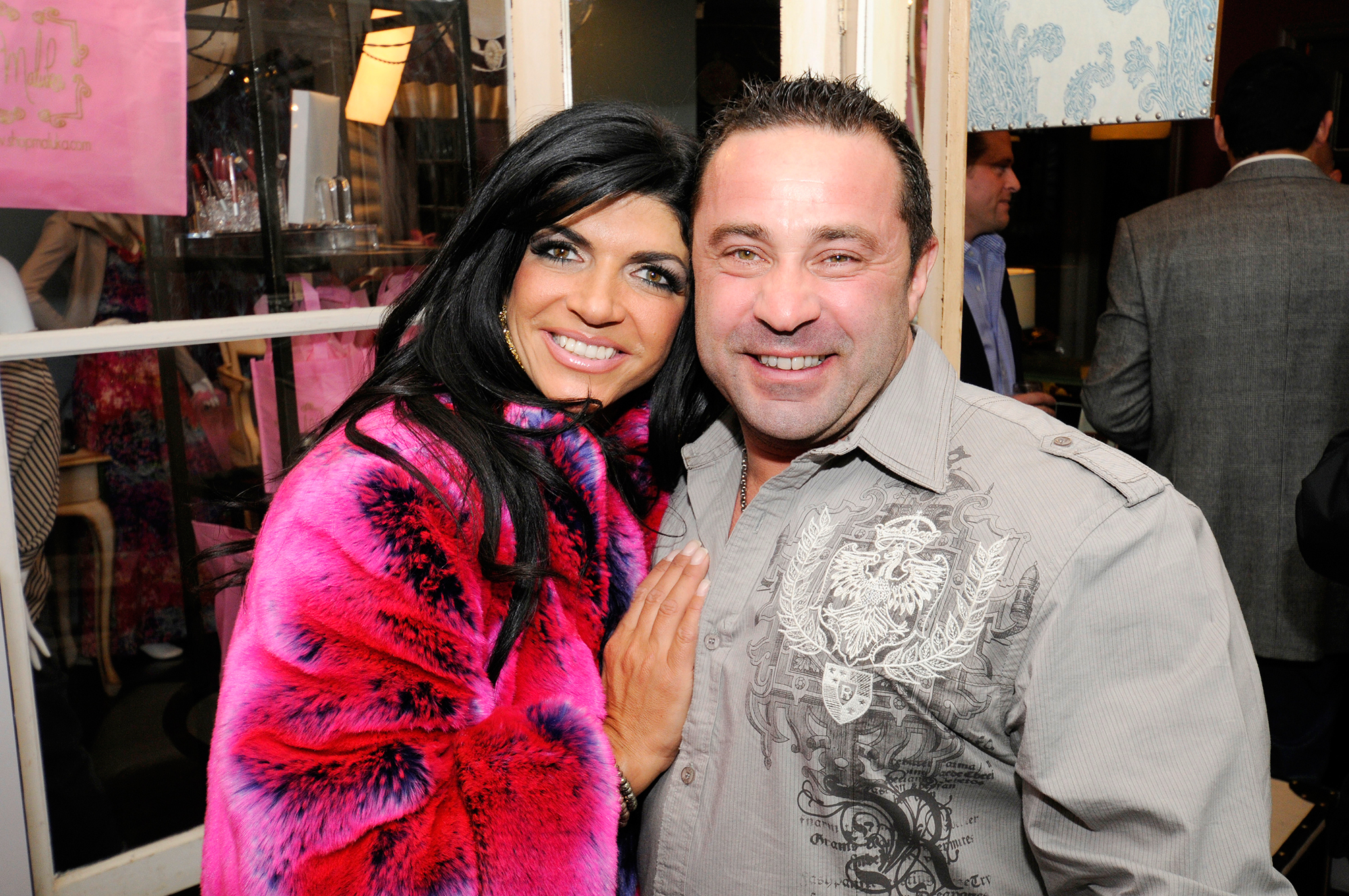 """Everything Teresa Giudice Has Said About Joe Giudice's Deportation - THE REAL HOUSEWIVES OF NEW JERSEY — """"Black as Ink"""" Episode 315″ — Pictured: (l-r) Teresa Giudice, Joe Giudice (Photo by Andrei Jackamets/NBC/NBCU Photo Bank via Getty Images)"""