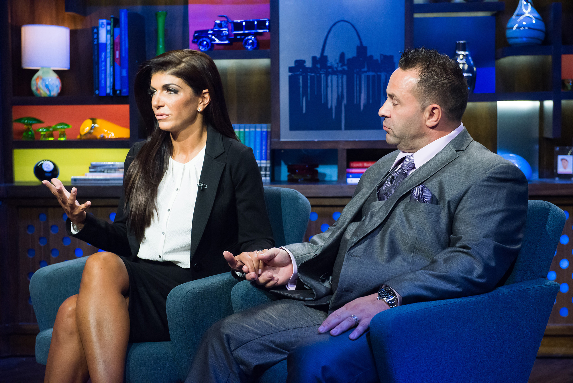 """Everything Teresa Giudice Has Said About Joe Giudice's Deportation - Teresa denied in October 2018 that she plans to divorce Joe after his deportation. """"No. We're going to be a family,"""" she told Entertainment Tonight ."""