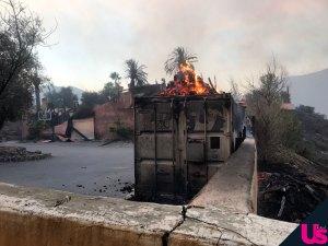 Bachelor Bachelorette Mansion Fire