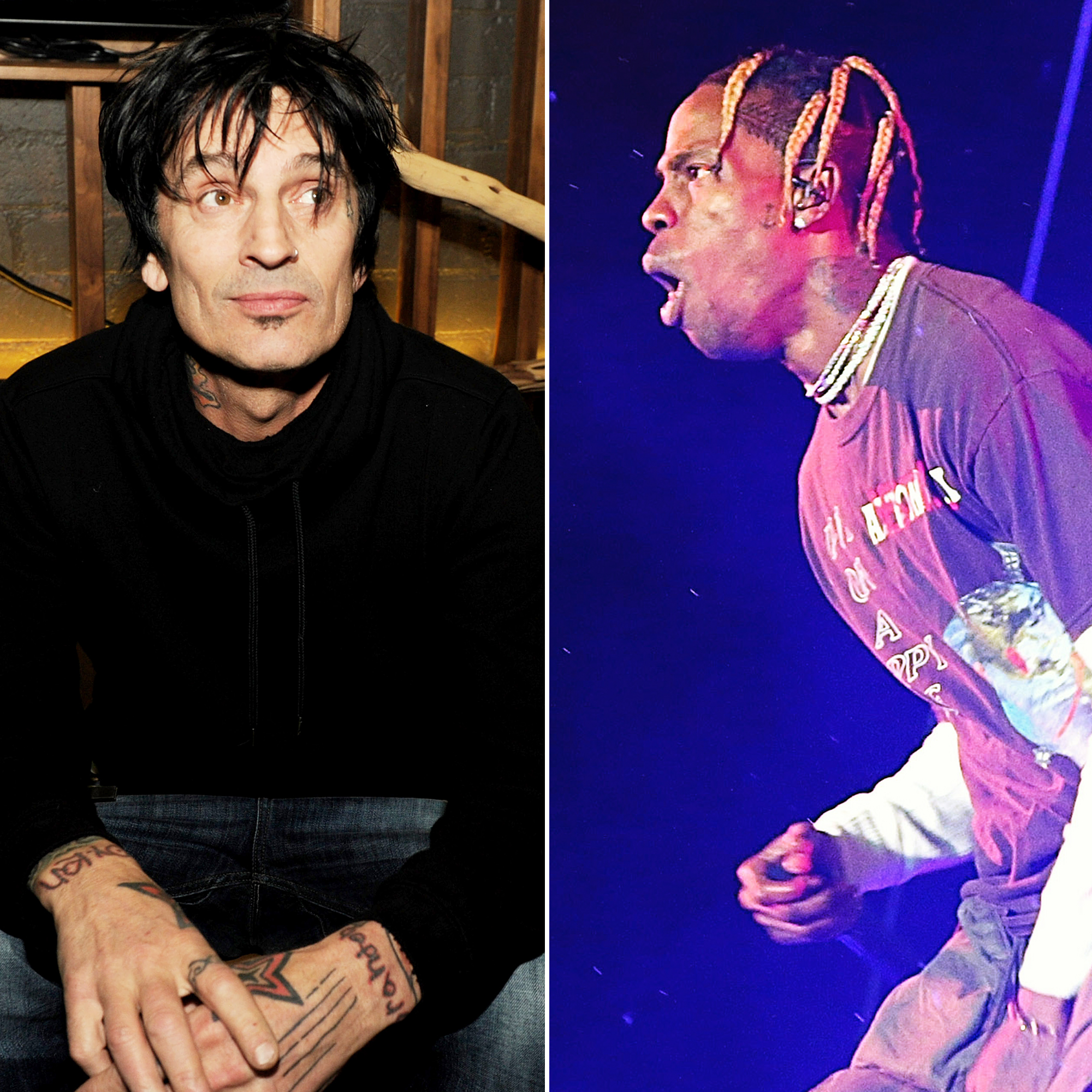 d6ddf114951c Tommy Lee Accuses Travis Scott of Stealing His Stage Design