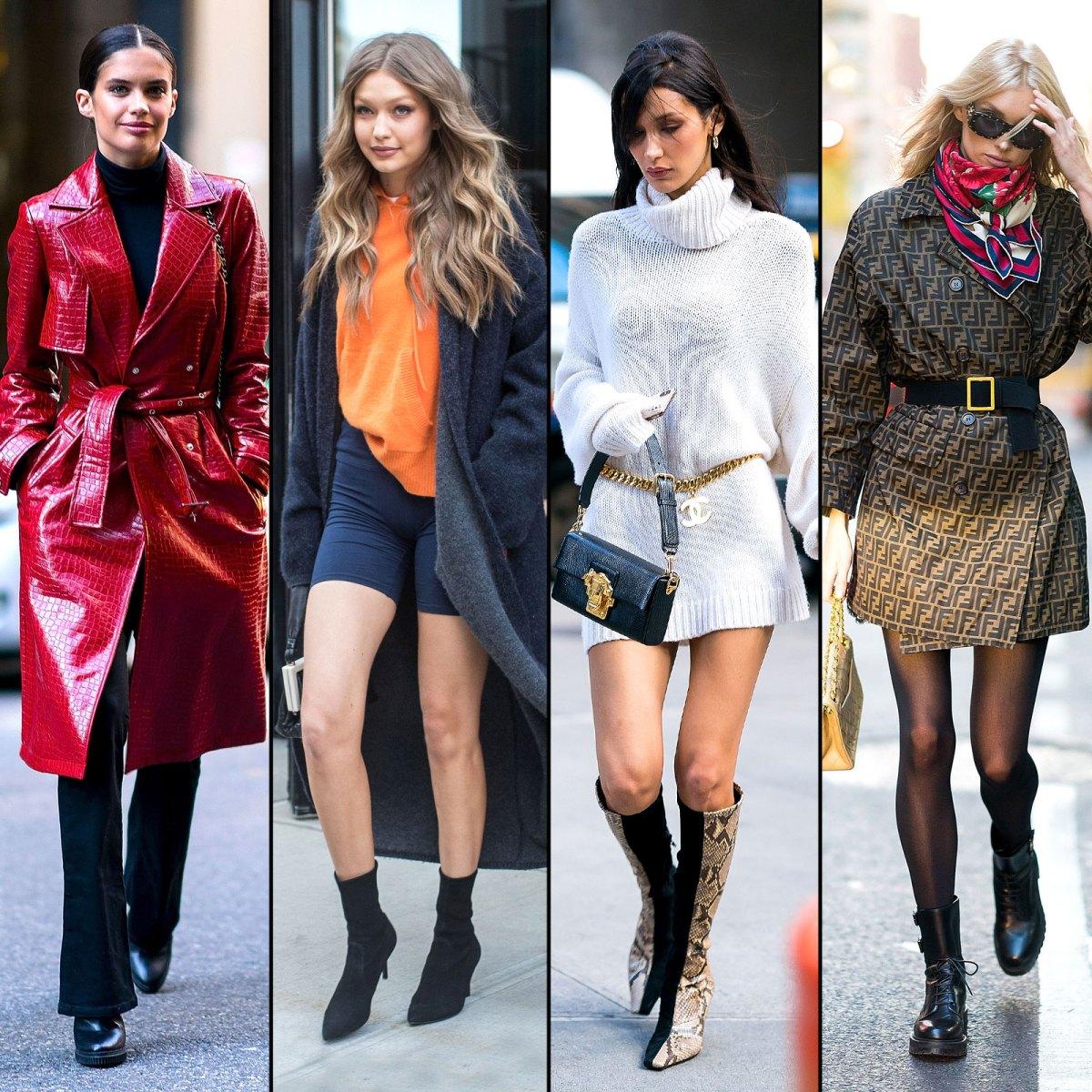 70464adb90f Victoria s Secret Fashion Show 2018  Best Model Street Style