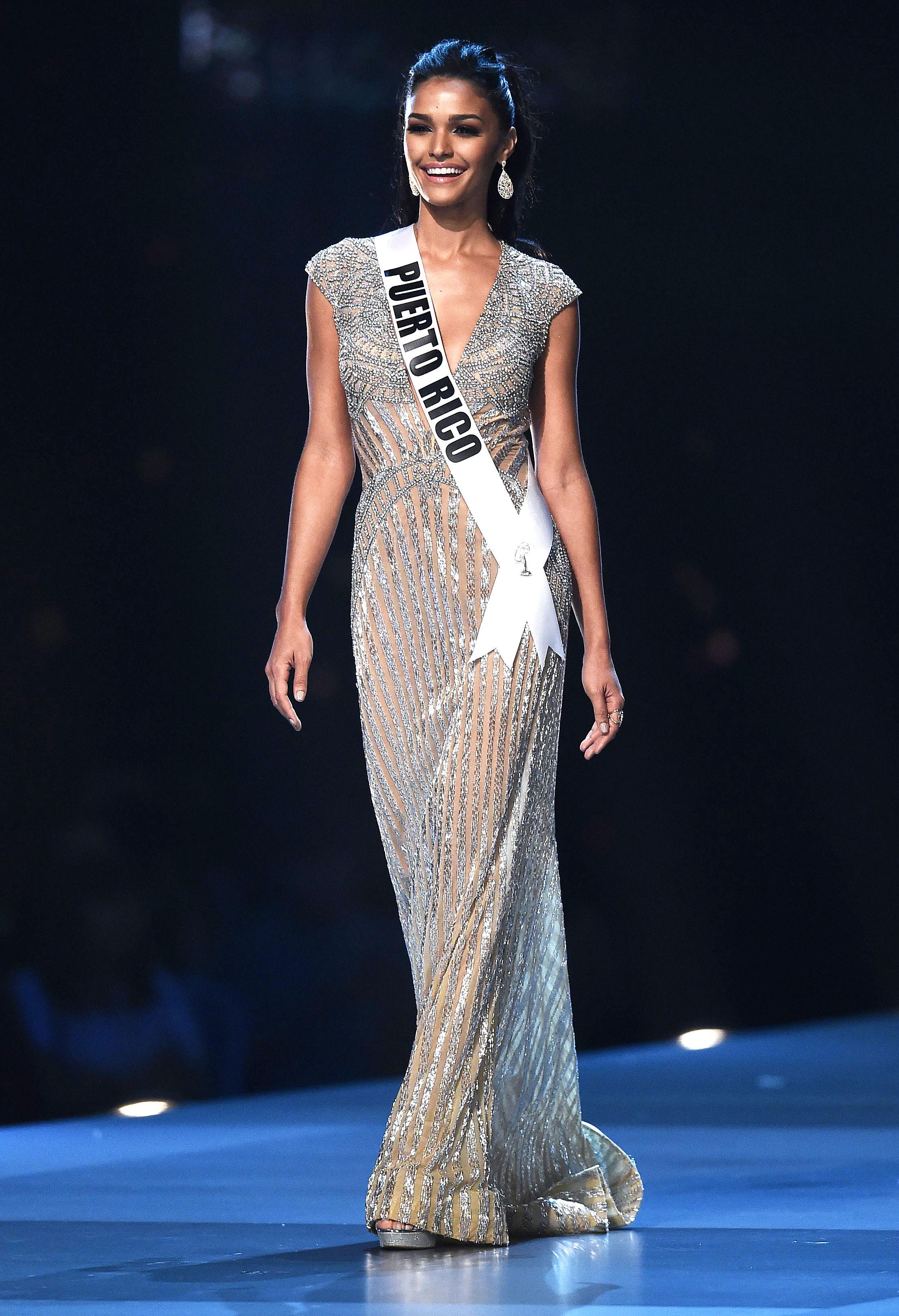 1-Miss-Puerto-Rico-Kiara-Ortega-miss-universe - In a shimmering floor-length gown.