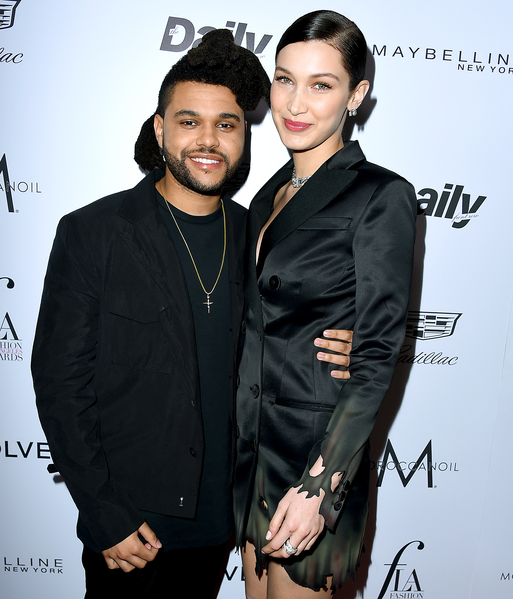 "11-A-New-Chapter-the-weeknd-bella-hadid - Following The Weeknd's split from Gomez in October 2017, Us Weekly learned that he and Hadid were "" talking, texting and FaceTiming each other pretty consistently."" A source told Us at the time, ""Bella really missed him. She's happy with where things are and he is too. They are still totally in love."""
