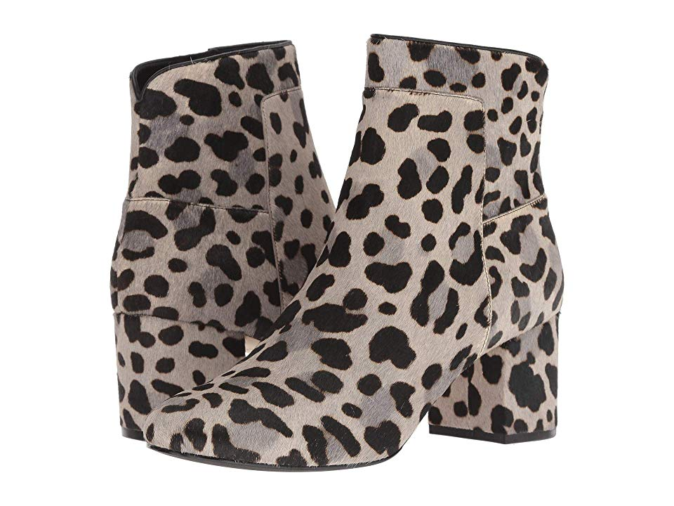 leopard cole haan booties