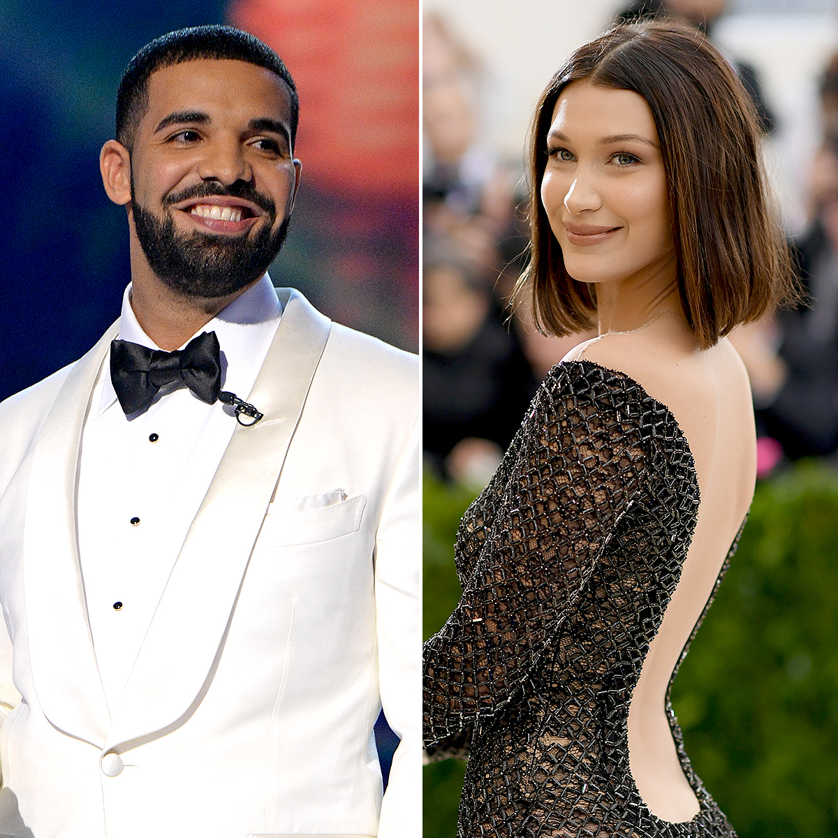 "9-onto-the-next-drake-bella-hadid - Speculation grew that Hadid was dating Drake after the ""In My Feelings"" rapper threw her a 21st birthday party in New York City in November 2017."