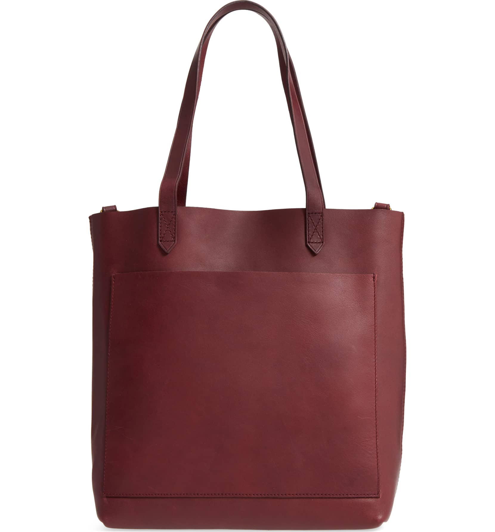 madewell red tote