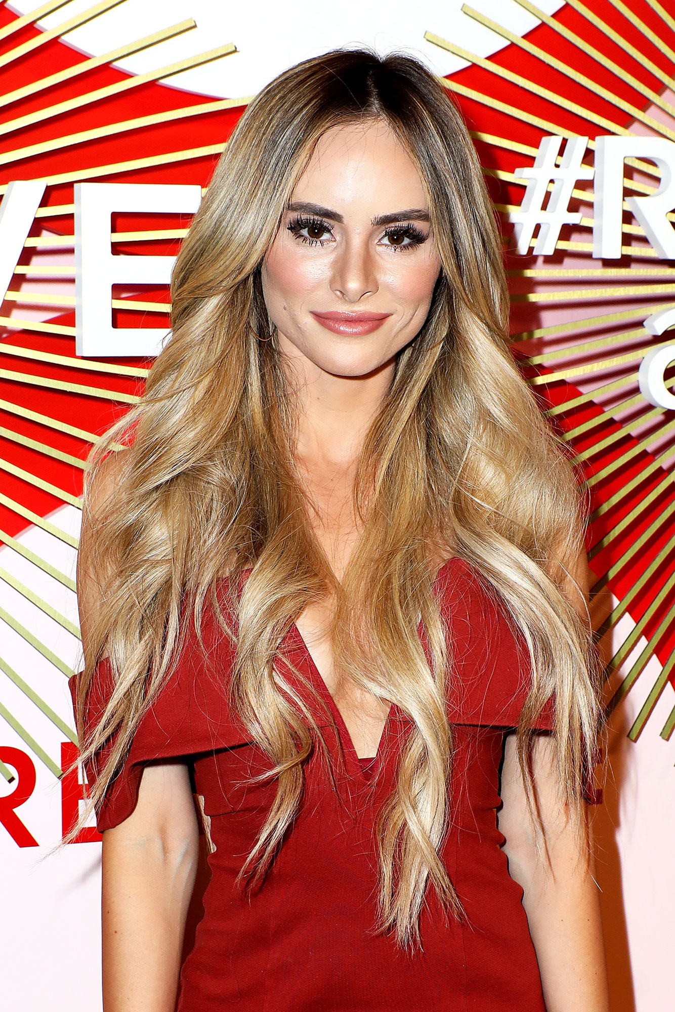 """Amanda Stanton - The Bachelor in Paradise alum clapped back at body shamers who criticized her slim physique on a before-and-after workout post. """" I do not have an eating disorder and am naturally skinny,"""" she wrote on Instagram Stories in December 2018."""