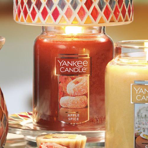 Apple Spice Large Classic Jar Candle