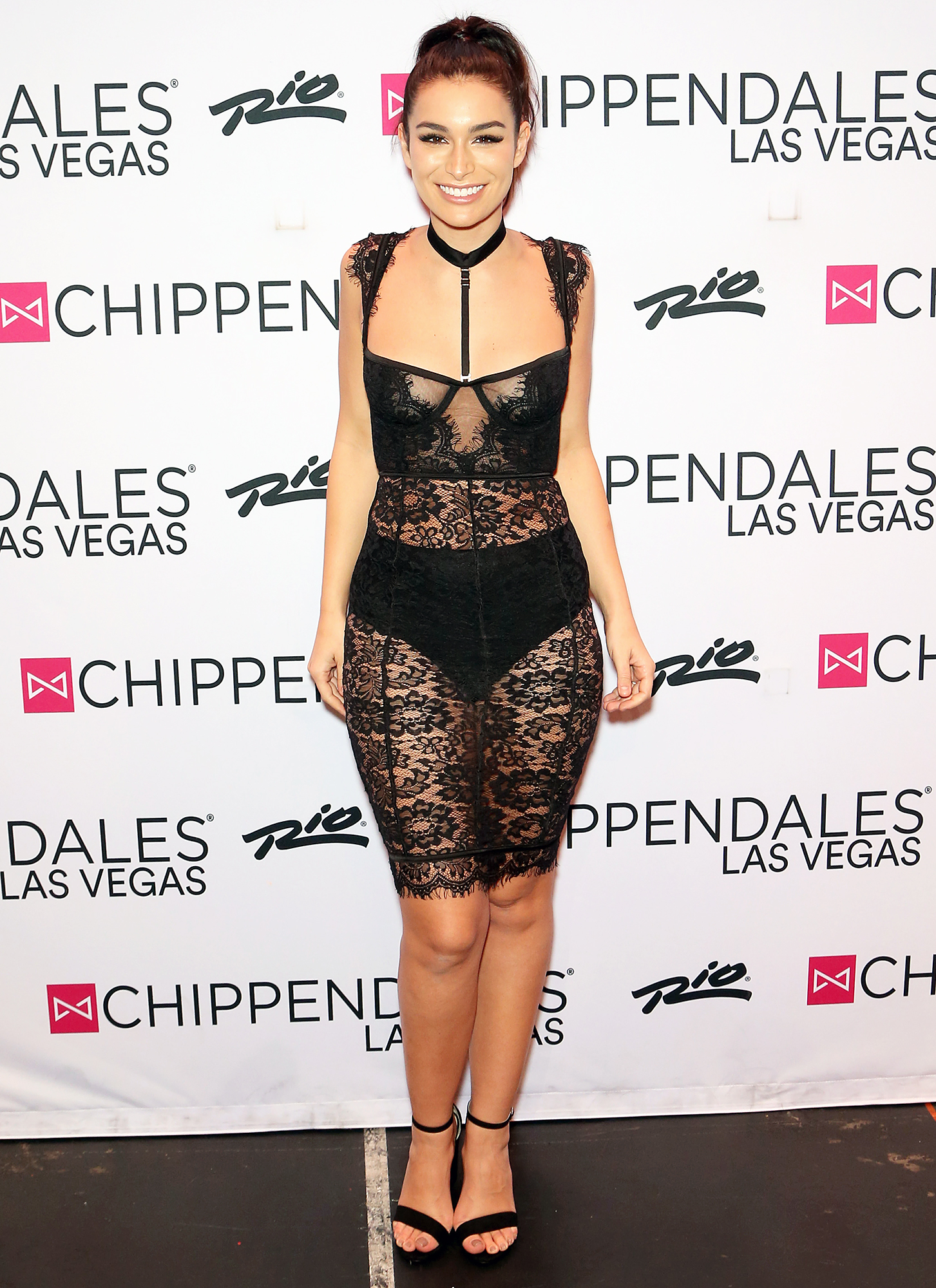 Ashley Iaconetti Diet Nearly Naked Dress Chippendales Las Vegas