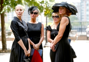 Aviva Drescher, Sonja Morgan, Ramona Singer, and LuAnn de Lesseps
