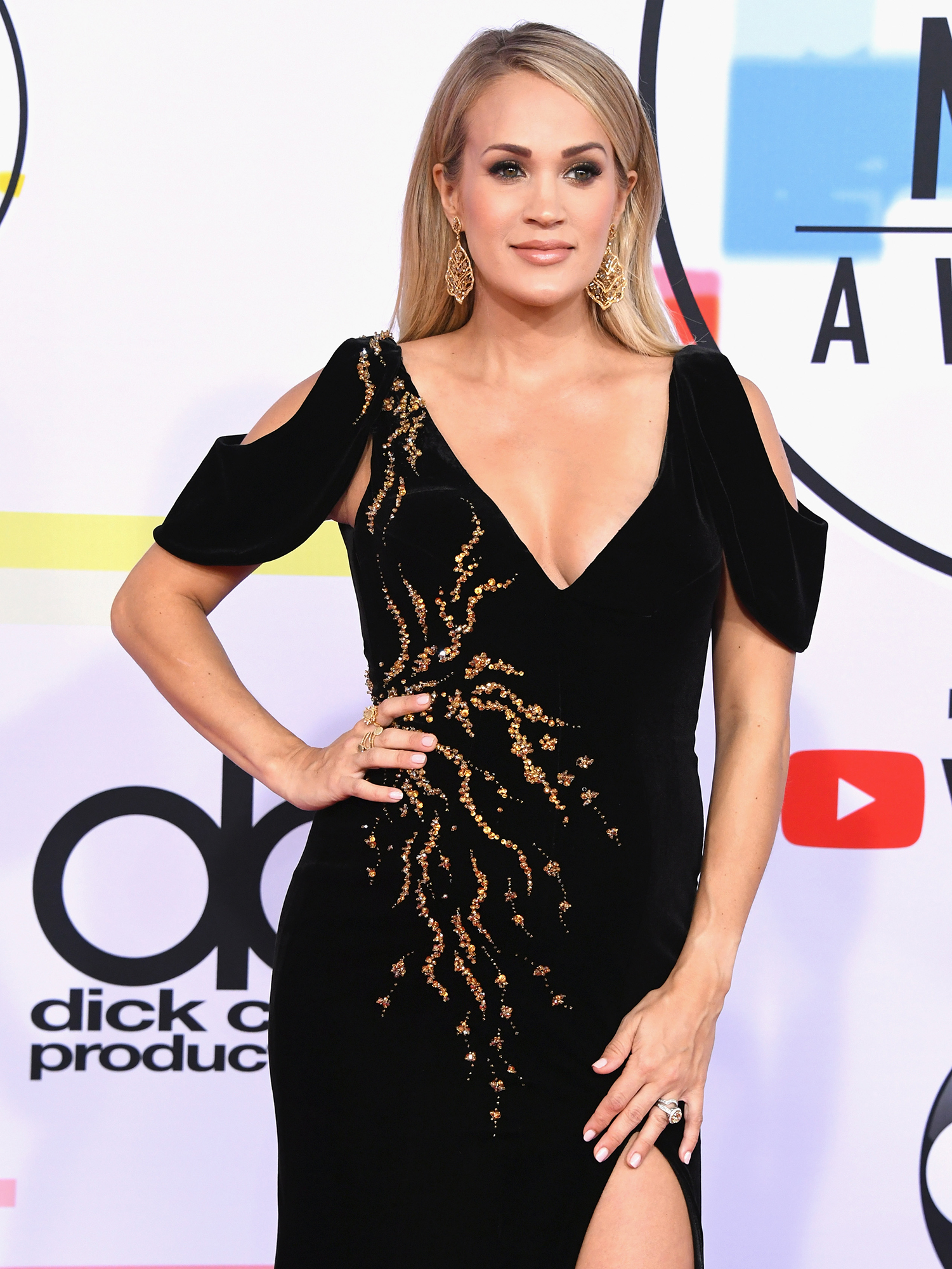 "Carrie Underwood Struggles - The ""Love Wins"" songstress revealed in January 2018 that she ""might look a bit different"" after getting ""between 40 and 50 stitches "" in her face following a fall at her home the previous November. ""Here we are 7 weeks later and, even though I've had the best people helping me, I'm still healing and not quite looking the same,"" she wrote in a letter to her fan club members."